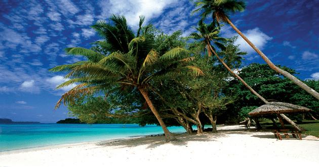 Champagne Beach au Vanuatu