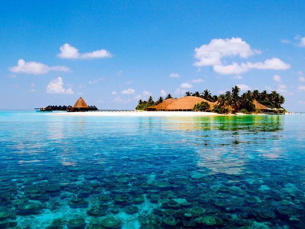 Plage de Matira à Bora Bora