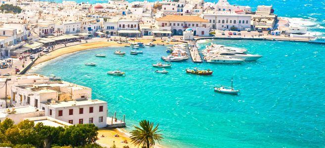 grece voyage mykonos